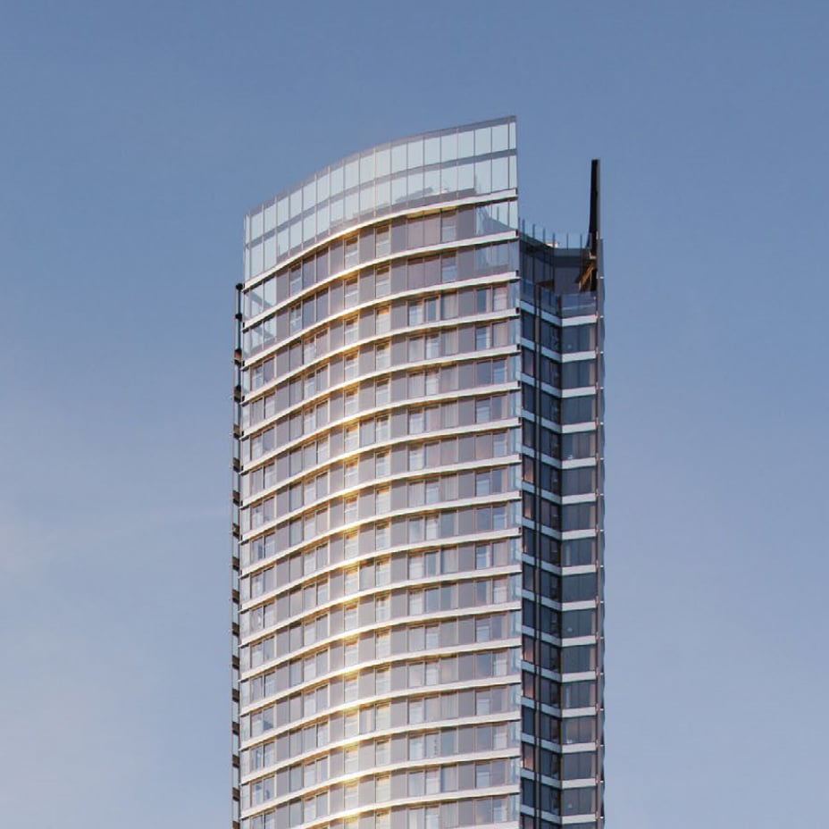 elegant tower at aspen canary wharf