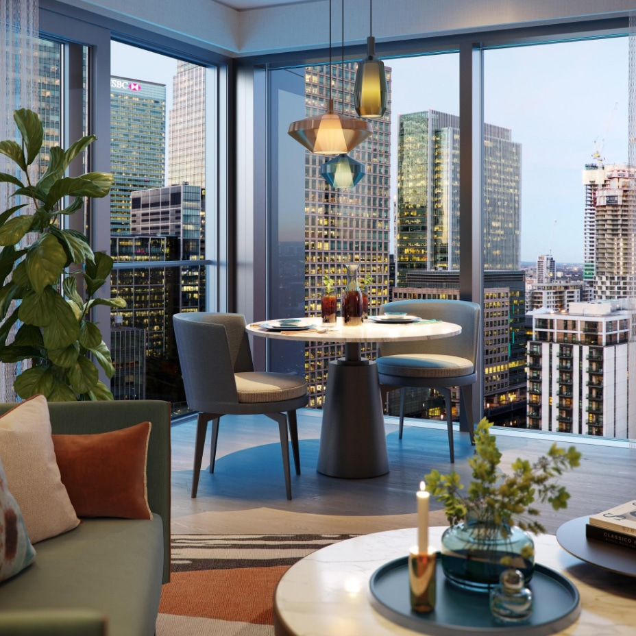 fashioned apartment in aspen canary wharf